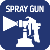 Paint Spot Application Clean: Spray
